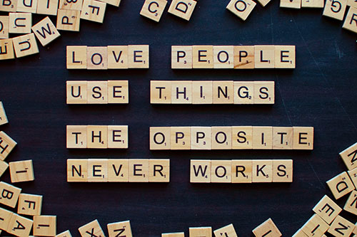 love people use things the opposite never works